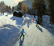 Andrew Macara - Two mountain huts