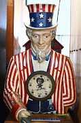 Wingsdomain Art and Photography - Uncle Sam At The Musee Mecanique At...