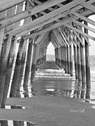 Suzanne Gaff - Under the Boardwalk BW