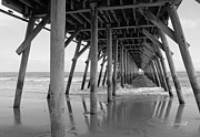 Suzanne Gaff - Under the Pier II in Black and White