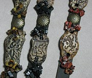 Most Jewelry - Unisex Bracelets In Retrospect by Annette Tomek