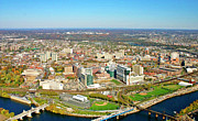 Aerial Photo Of Philadelphia Posters - University City Philadelphia Pennsylvania Poster by Duncan Pearson