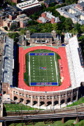 Hockey Art - University of Pennsylvania Franklin Field S 33rd Street Philadelphia by Duncan Pearson