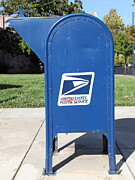 Wingsdomain Art and Photography - US Mail Box . 5D18813
