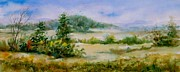 Arkansas Paintings - Valley View by Virginia Potter