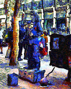 Wingsdomain Art and Photography - Van Gogh Is Captivated By A San...