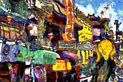 Wingsdomain Art and Photography - Van Gogh Meets Up With The Screamer in...