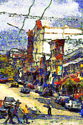 Wingsdomain Art and Photography - Van Gogh Takes The Right Turn And...
