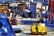 Wingsdomain Art and Photography - Van Gogh Tours The Streets of San...