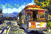 Wingsdomain Art and Photography - Van Gogh Vacations In San Francisco...
