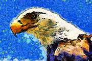 Wingsdomain Art and Photography - Van Gogh.s American Eagle Under A...