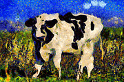 Wingsdomain Art and Photography - Van Gogh.s Big Bull . 7D12437