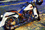 Wingsdomain Art and Photography - Van Gogh.s Harley-Davidson 7D12757