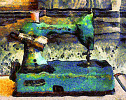 Wingsdomain Art and Photography - Van Gogh.s Old Sewing Machine . 7D13064