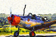 Wingsdomain Art and Photography - Van Gogh.s Single Engine Propeller...