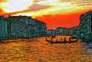 Steve Harrington - Venice Eventide impasto
