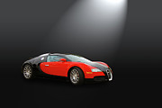 Photomanipulation Photo Prints - Veyron Print by Bill Dutting