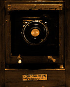 Wingsdomain Art and Photography - Vintage Korona View Camera . sepia ....
