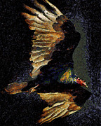 Wingsdomain Art and Photography - Vulture In Van Gogh.s Dream Returns ....