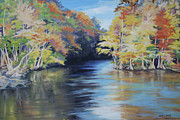 Waccamaw River Paintings - Waccamaw Autumn by Sharon Sorrels