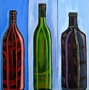 Sandra Marie Adams Prints - Waiheke Bottled Print by Sandra Marie Adams