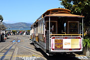 Wingsdomain Art and Photography - Waiting For The Cablecar At Fishermans...