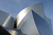 Iconic Design Photo Prints - Walt Disney Concert Hall 14 Print by Bob Christopher