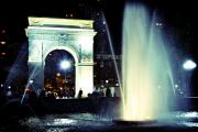 Washington Square Park After Dark Fine Art Print by Ariane Moshayedi