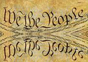 We The People Posters - We the People Poster by Day Williams