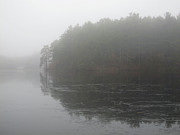 Lake - Westboro Fog by Kathy Dahmen