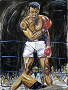 Cassius Clay Paintings - Whats My Name by Hannah Curran