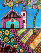 Pristine Cartera Turkus - Whimsical Church