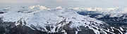 Snowboard Framed Prints - Whistler mountain panorama Framed Print by Pierre Leclerc