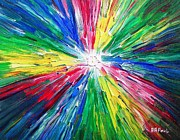Beautiful Paintings - White Hole by Buddy Paul