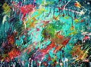 Funky Originals - White Rain by April Brosemann
