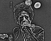 Concert Digital Art - Willie Nile by Jeff Ross