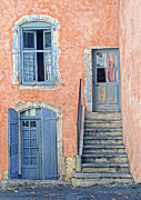 Window And Doors Framed Prints - Window and Doors Provence France Framed Print by Dave Mills