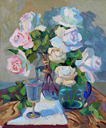 Peaches Originals - Wine and Roses by Diane McClary