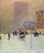 Childe Hassam - Winter Afternoon in New York
