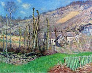 Claude Monet - Winter at the Val de Falaise