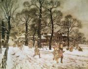 Arthur Rackham - Winter in Kensington Gardens