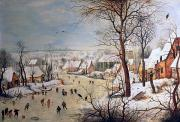 Pieter the elder Bruegel - Winter Landscape with Birdtrap