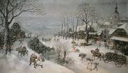 Lucas van Valckenborch - Winter
