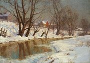 Walter Launt Palmer - Winter Morning