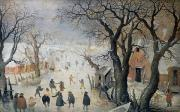 Hendrik Avercamp - Winter Scene