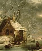 Jan Beerstraten - Winter Scene
