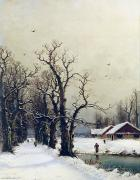 Nils Hans Christiansen - Winter scene