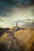 Sandra Cunningham - Woman holding outstretched arms on top...