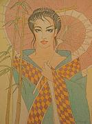 Gary Kaemmer - Woman under the bamboo...