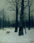 Isaak Ilyic Levitan - Wood in Winter